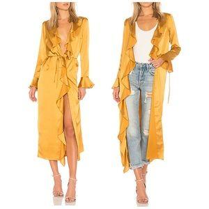 Tularosa NWT Women's Michelle Robe in Mustard S